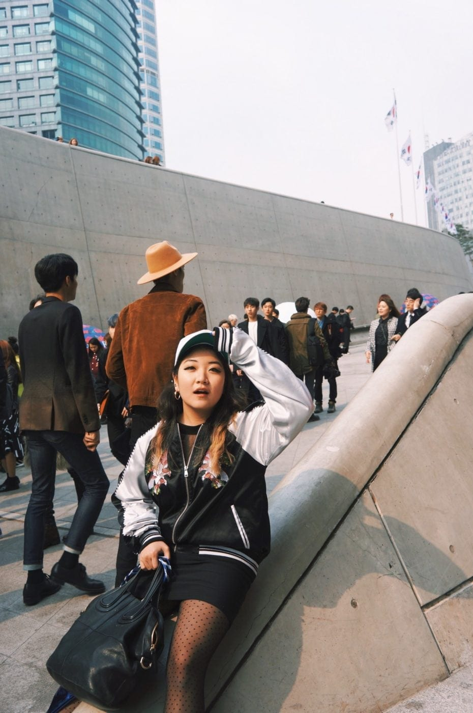 Seoul Fashion Week 2016 street Fashion