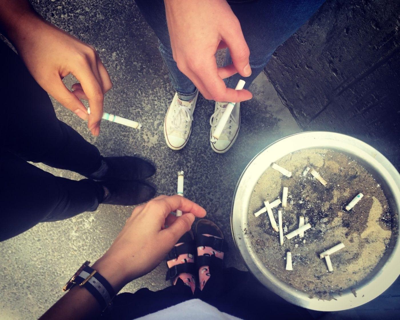smoking in korea