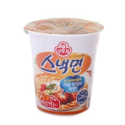 Snack Myeon 스낵면 korean ramen guide