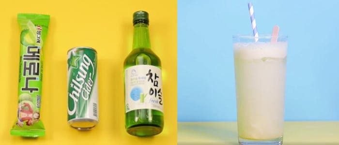 soju cocktail ice cream