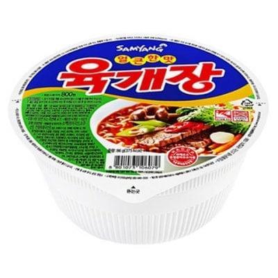 Yuk Gae Jang 육개장 korean ramen guide
