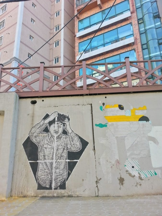 Graffiti Culture In Busan