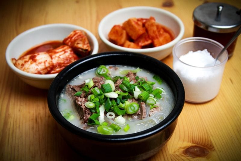 korean delicacies for the summer 설렁탕