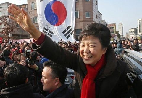 feminism south korea park geun hye