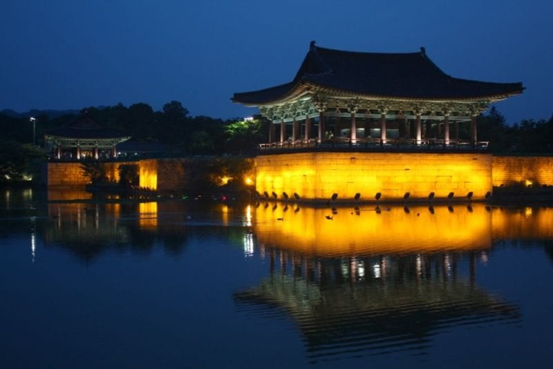 Places to see in gyeongju anapji pond