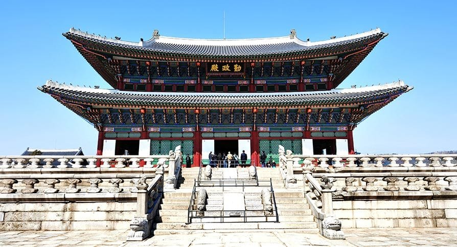the best palaces to see in seoul gyeongbokgung palace