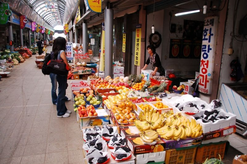 places to see in gyeongju seongdong market