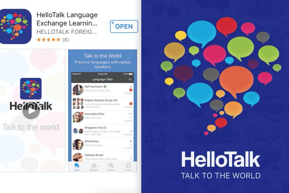 hellotalk language app