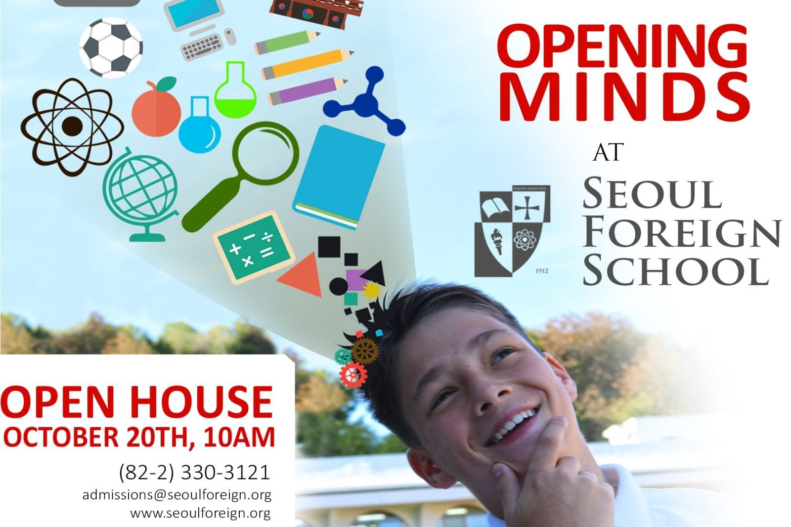 SFS, open house, October, 2016, Seoul, Korea, international school, foreign school
