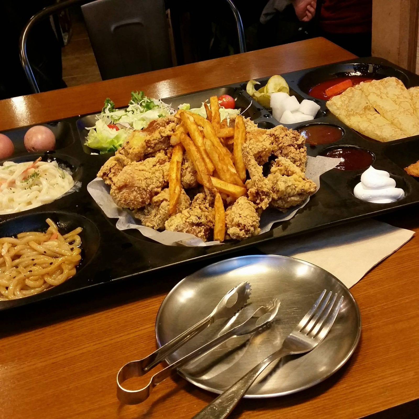 Nightlife in Seoul chicken hongdae