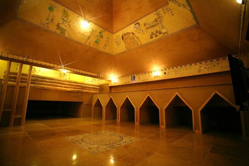 Jjimjilbang During Winter: Dragon Hill Spa Pyramid Meditation Room