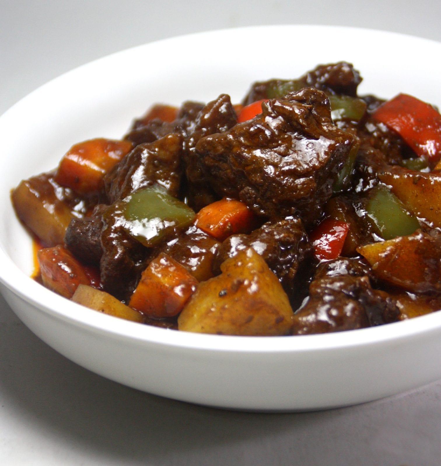 Filiipino Food in Seoul beefcaldereta tasteandco ph