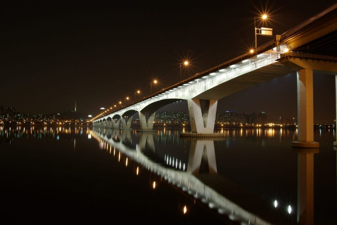 Things To Do At Night In Seoul bridge