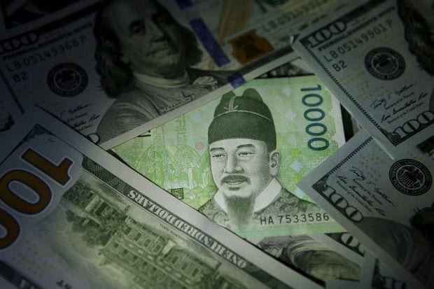 Could You Lose Your Won?, Korean Won and US Dollars