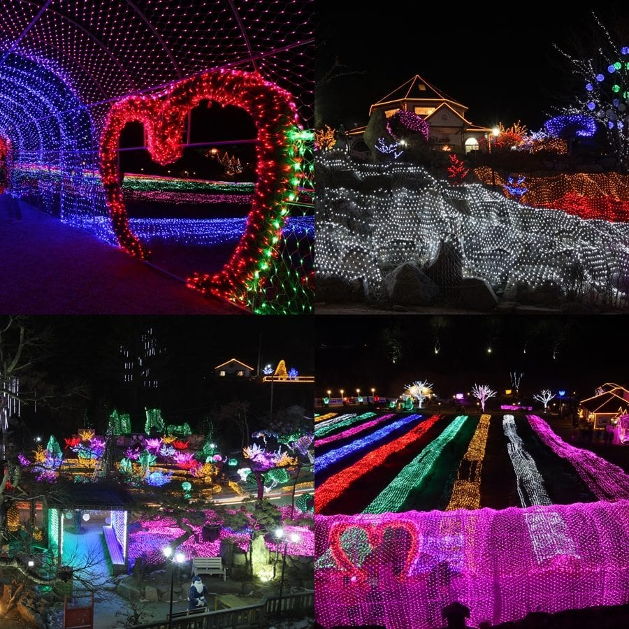 winter in South Korea Activities Light & Fairy Tale Story Festival of Herb Island