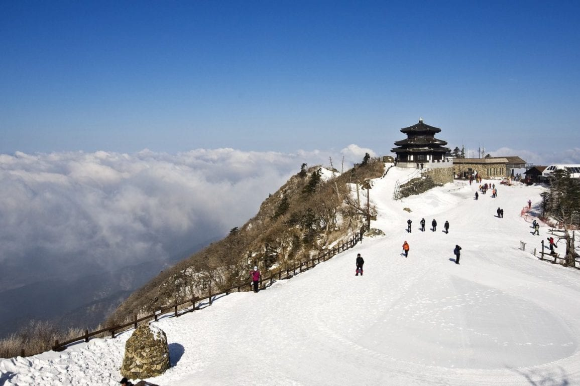 Winter in South Korea activities things to do Pixabay deogyusan-1222918_1920