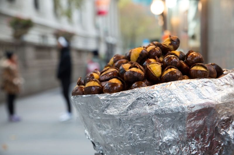 Korean chestnuts