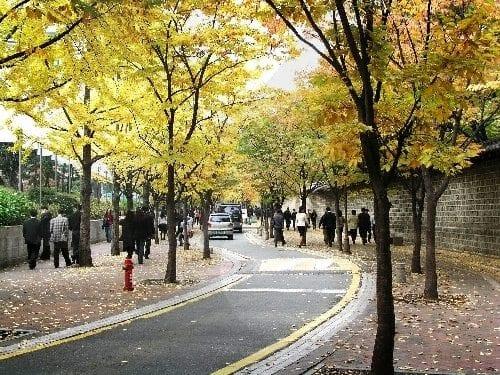 korean superstitions deoksugung path