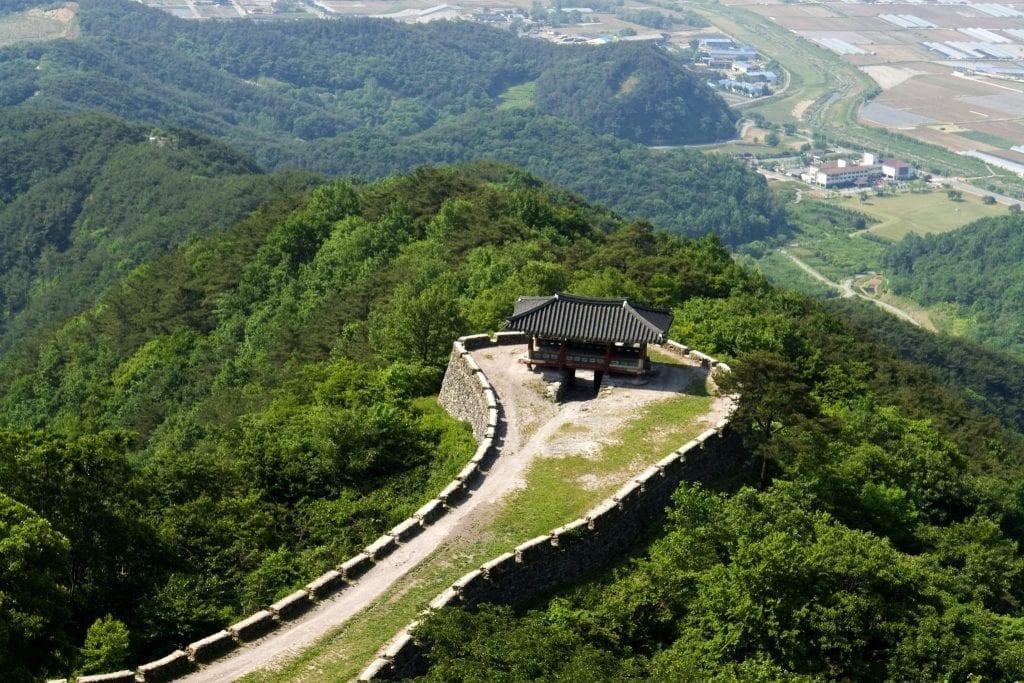 castle korea Geumseongsanseong Fortress