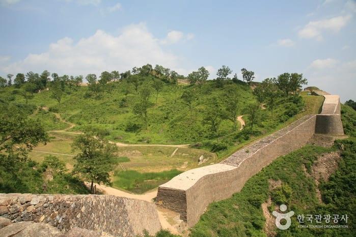 castle korea Samnyeonsanseong Fortress
