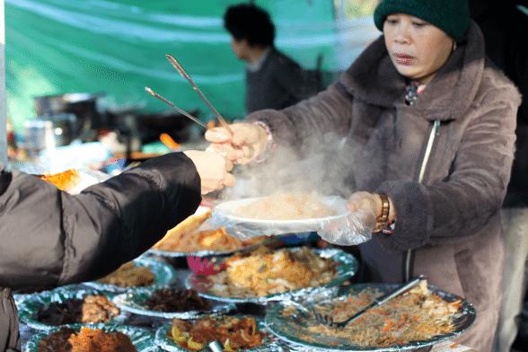 filipino market in seoul meals