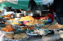filipino market in seoul meals variety