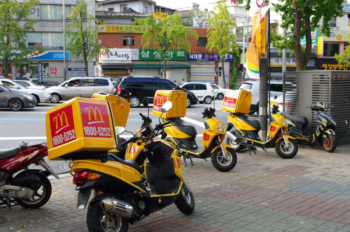 Sustainable Avoid Take Out and Delivery
