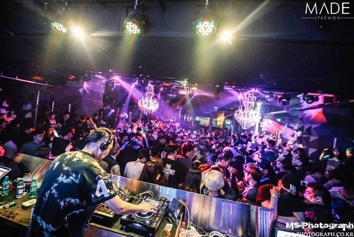 Best Clubs in Seoul Club Made Itaewon