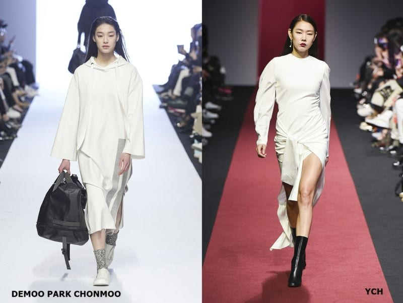 hottest fashion trends from seoul fashion week white