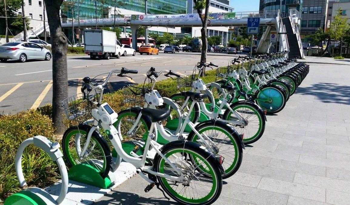 seoul bike bicycle rental city