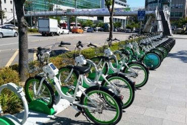 seoul bike bicycle rental city