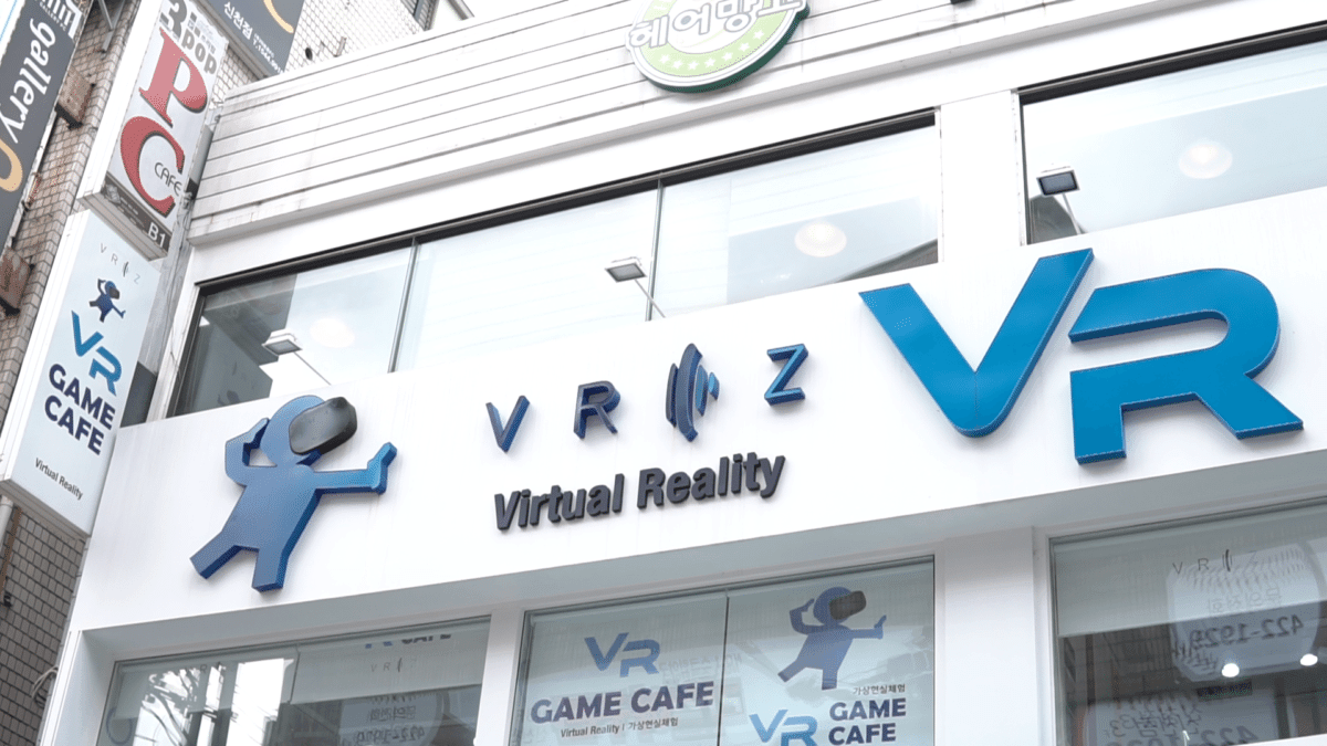 virtual reality hongdae seoul VR cafe