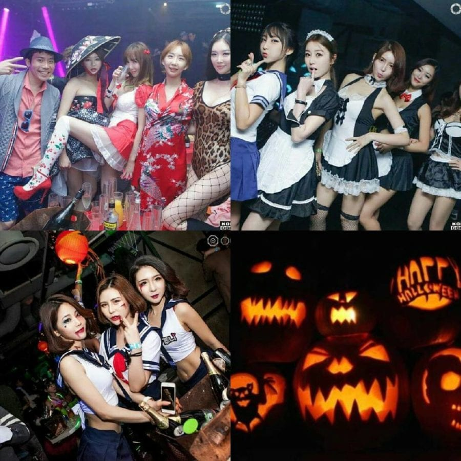 Club Octagon Halloween Party Hot Girls