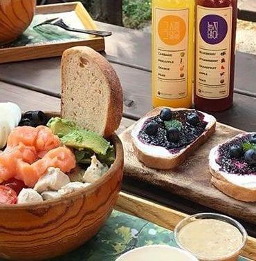 healthy food in seoul