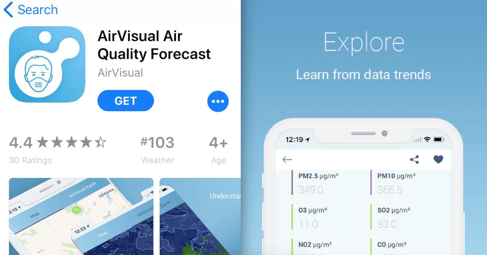 air visual app
