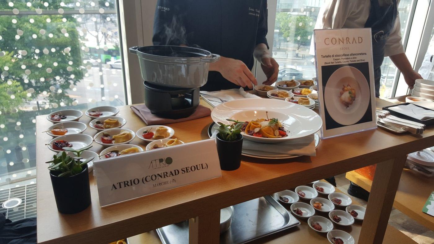 7th Italian Food Festival Atrio Italian Restaurant Seoul