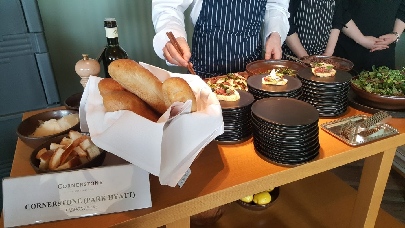 7th Italian Food Festival Cornestone Italian Restaurant Seoul