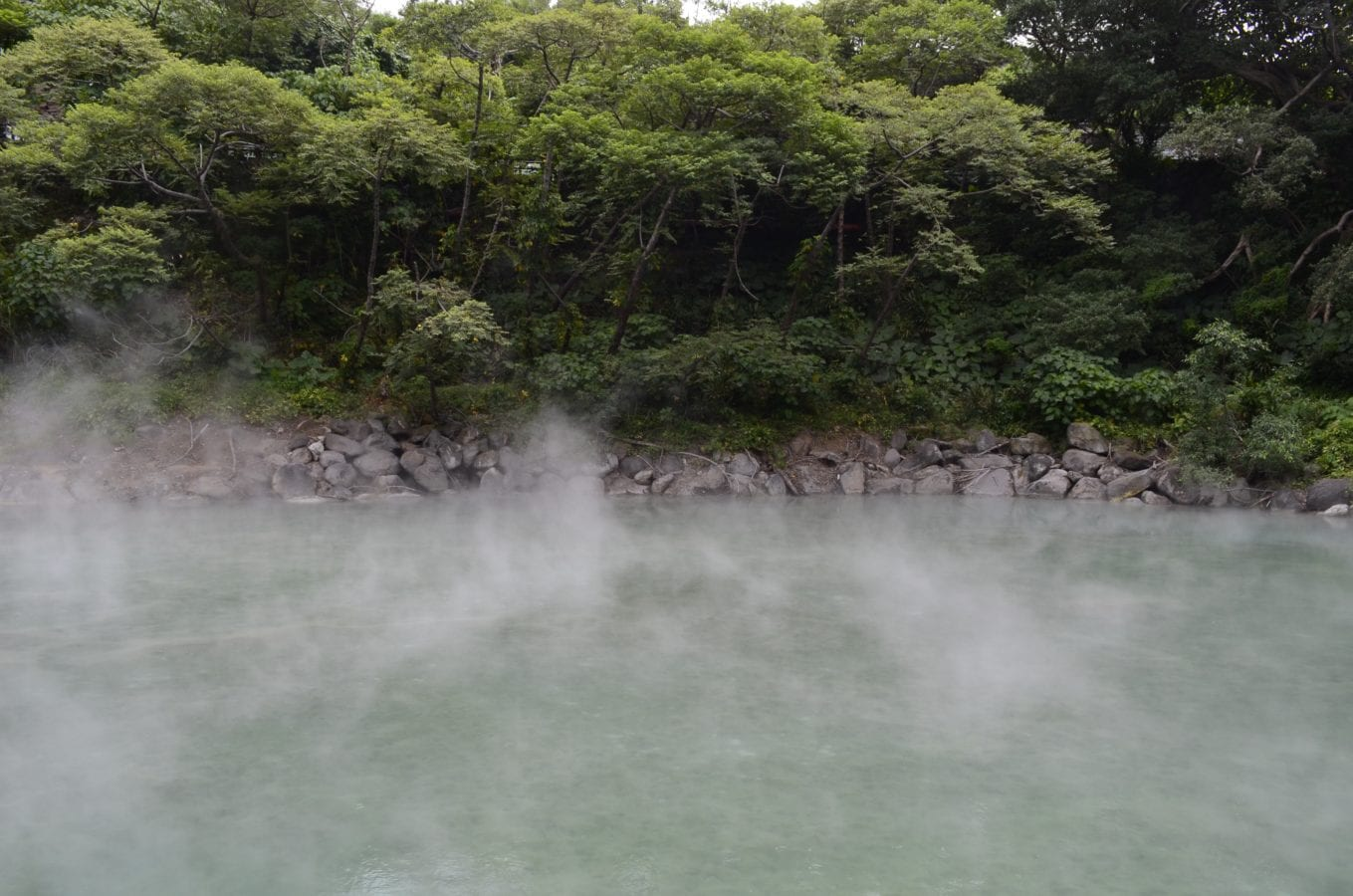 The hot springs in Taipei's Beitou district