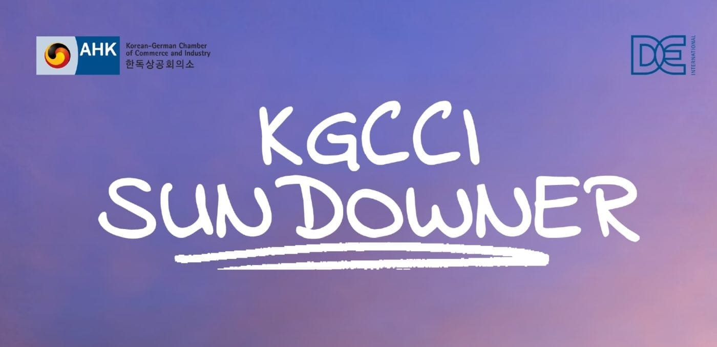 KGCCI Sundowner Networking Events June Seoul