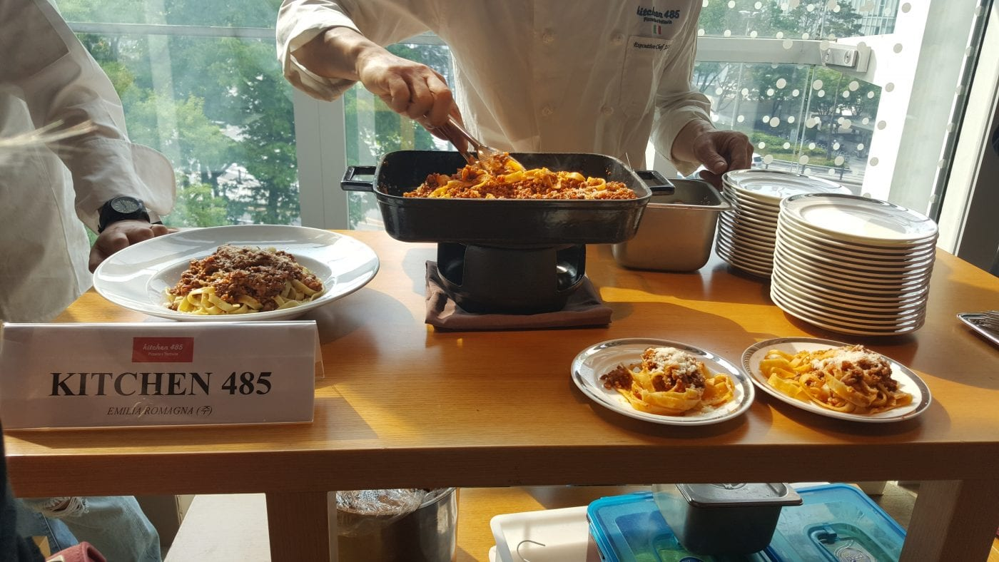 7th Italian Food Festival Kitchen485 Italian Restaurant Seoul
