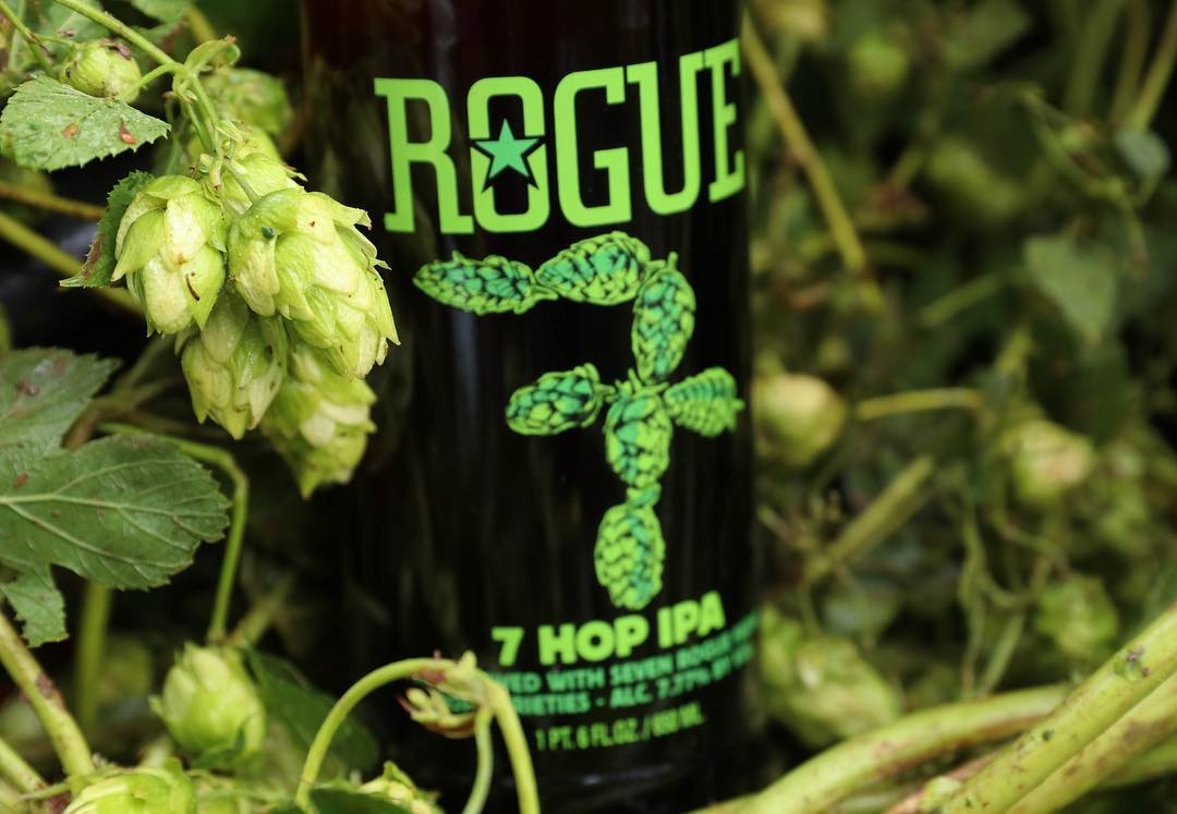 Rogue Farm 7 Hop IPA Rogue Ales Craft Beer Summer Korea