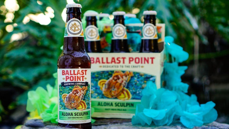 Aloha Sculpin Ballast Point Craft Beer Summer Korea