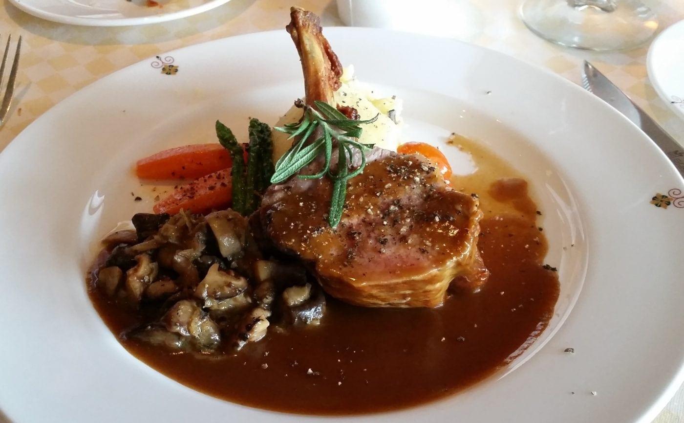lamb chop cruise korea