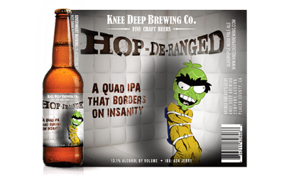 HOP-DE RANGE Quad IPA Knee Deep Brewing Craft Beer Summer Korea