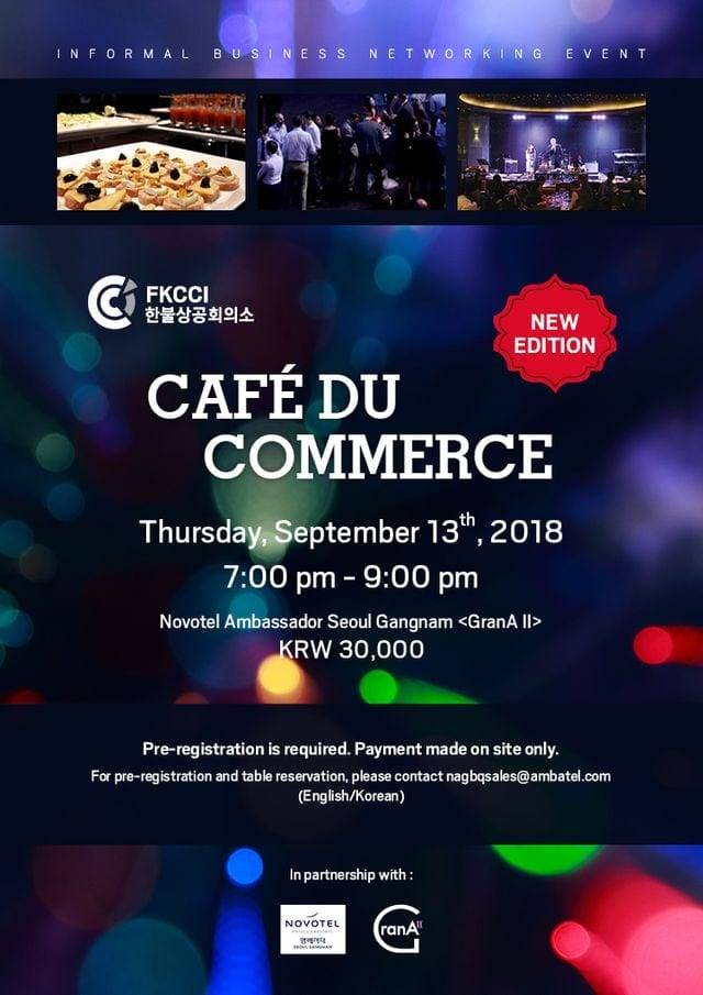 10 Business Networking Events in September FKCCI Café du Commerce