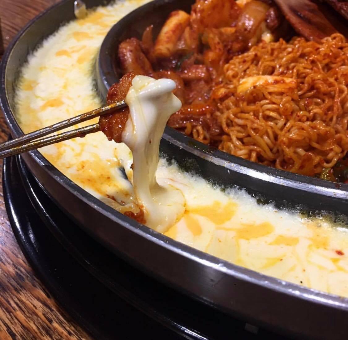 korean food foods dak galbi chicken cheese best popular