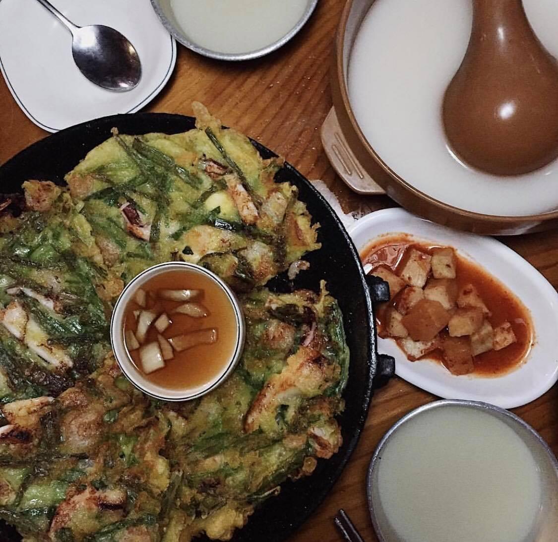 korea korean food foods best popular makgeolli pa jeon