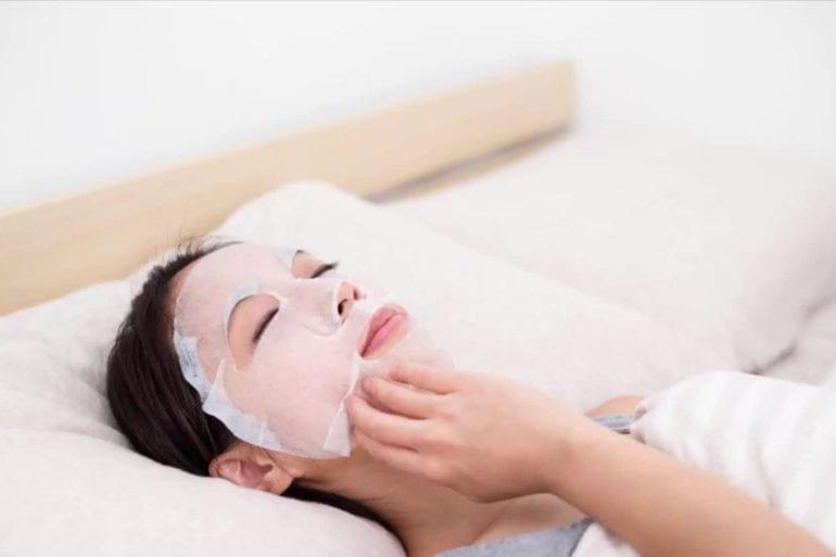 skincare sheet mask beauty