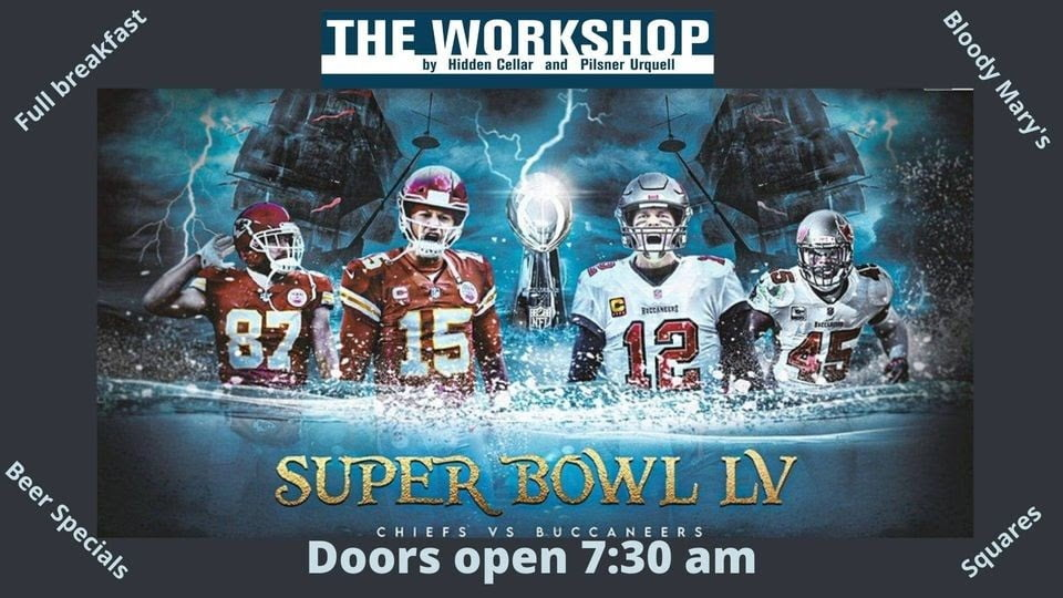 the workshop super bowl