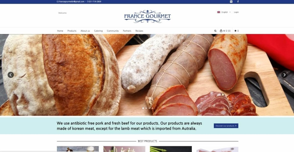 france gourmet online shopping korea foreign food